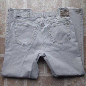 Mens Arizona Khaki Denim Jeans 36x32